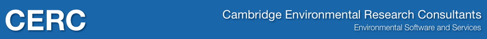 Cambridge Environmental Research Consultants, Environmental Software and Services